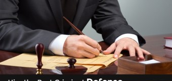 Factors Imperative when Searching for the Best Criminal Defense Lawyer