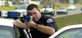 Using Radar Guns to Track Vehicle Speed